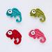 Chameleon Applique pattern