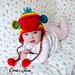 Rainbow Sock Monkey Hat pattern