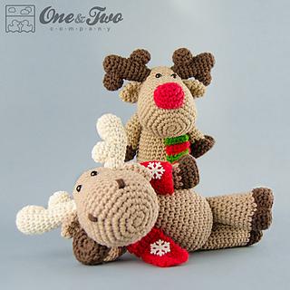Amigurumi Reindeer - A Free Crochet Pattern - Grace and Yarn | 320x320