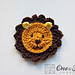 Lion Applique pattern