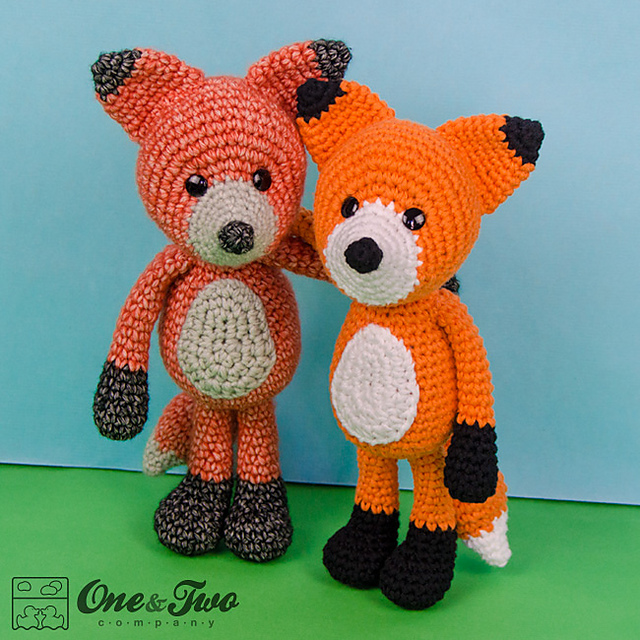 Ravelry: Fox Amigurumi, Mr. Furu pattern by Joanne Loh | 640x640