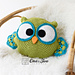 Ollie the Owl Pillow pattern