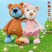 Lia & Brooklyn Bear Cubs pattern