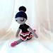 Violet the Moonlight Ballerina Amigurumi Doll pattern
