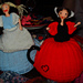 Alice in Wonderland and the Queen of Hearts Tea-Cosies pattern