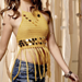 Fringed Crop Top pattern