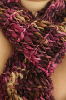 Twisted Drop Stitch Scarf