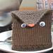 Tea Toting Owl pattern
