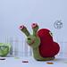Snail heart amigurumi pattern