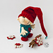 Christmas gnome doll pattern
