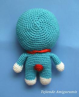 Crochet Amigurumi Doraemon | Mẫu thêu móc, Búp bê, Mẫu móc len ... | 320x261