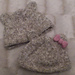 Toby and Tina the Teddy Bear Baby Hats pattern