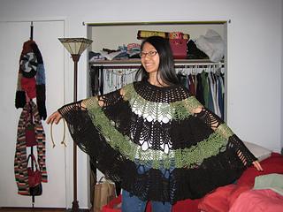 Pineapple Skirt\/Poncho 1