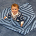 Snuggly Eyelet Baby Blanket pattern
