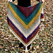 Warlock triangle shawl pattern