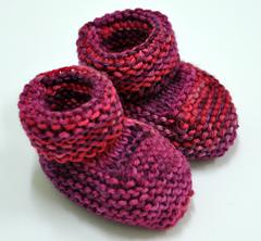 Ravelry: Baby's Booties (knit) pattern by Bernat Design Studio