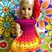 American Girl Little Flamenco Dress pattern