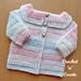 Easy Peasy Baby Cardigan pattern
