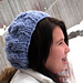 Speedy Cabled Beret pattern