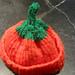 Seamless Preemie and Newborn Pumpkin Hat pattern
