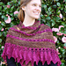 Sophie's Rose Shawlette pattern