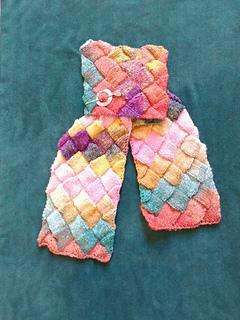 jpcsadler's Minerva scarf, 4 balls Noro Silk Garden