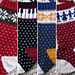 Snowflake Christmas Stocking pattern