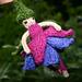 Fuchsia Flower Fairy pattern