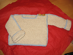 Suss knit baby pullover