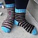 Chinstrap Heel Socks pattern