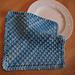 Hurdle stitch diagonal dishcloth / Lavette au point de claie pattern