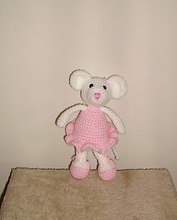 Angelina ballerina knitting pattern free | 320x258