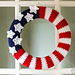 American Flag Wreath pattern
