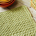 Crunchy Stitch Dishcloth pattern