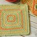 Seeing Squares Dishcloth pattern