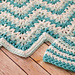 Gentle Ripple Baby Blanket and Hat pattern