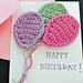 Balloons Applique pattern