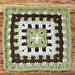 Caterpillar Afghan Square pattern