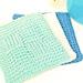 Tunisian Sampler Stitch Washcloth pattern