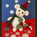 Holly the Christmas mouse pattern