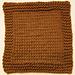 Knooking 102: Garter Stitch Washcloth pattern