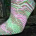 Sideswept Socks pattern