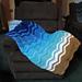 Soothing Waves Lapghan pattern