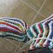 2 Needles, 2 Colors, Modular Socks pattern