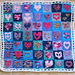Hearts 7x7 pattern