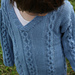 Design D - Boys' Cabled Sweater and Slipover Vest pattern