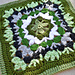 Catalina Afghan Square pattern