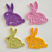 Bunny rabbit applique pattern