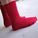 Shadow Rib Socks pattern