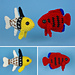 Tropical Fish Set 4 pattern